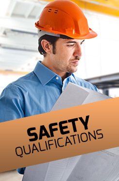 Internationally Accreditated Safety Qualifications - NEBOSH, IOSH, MFA, HABC, NSC