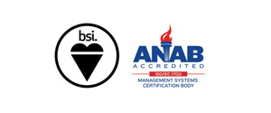 BSI and ANAB Certified Institution