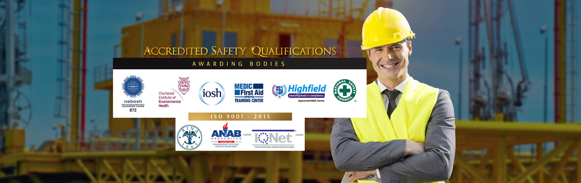 NEBOSH and other International Safety Qualifications