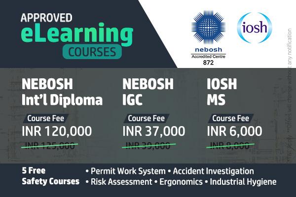 Registration For NEBOSH IGC International Diploma
